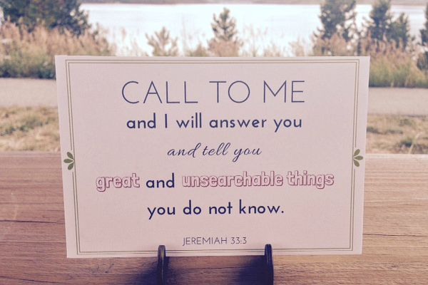 Call to Me blog photo