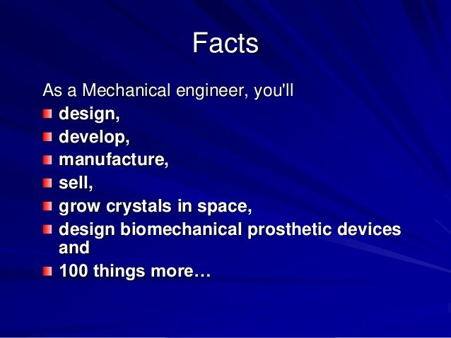 some interesting facts about mechanical | Mechanical Engineering ...