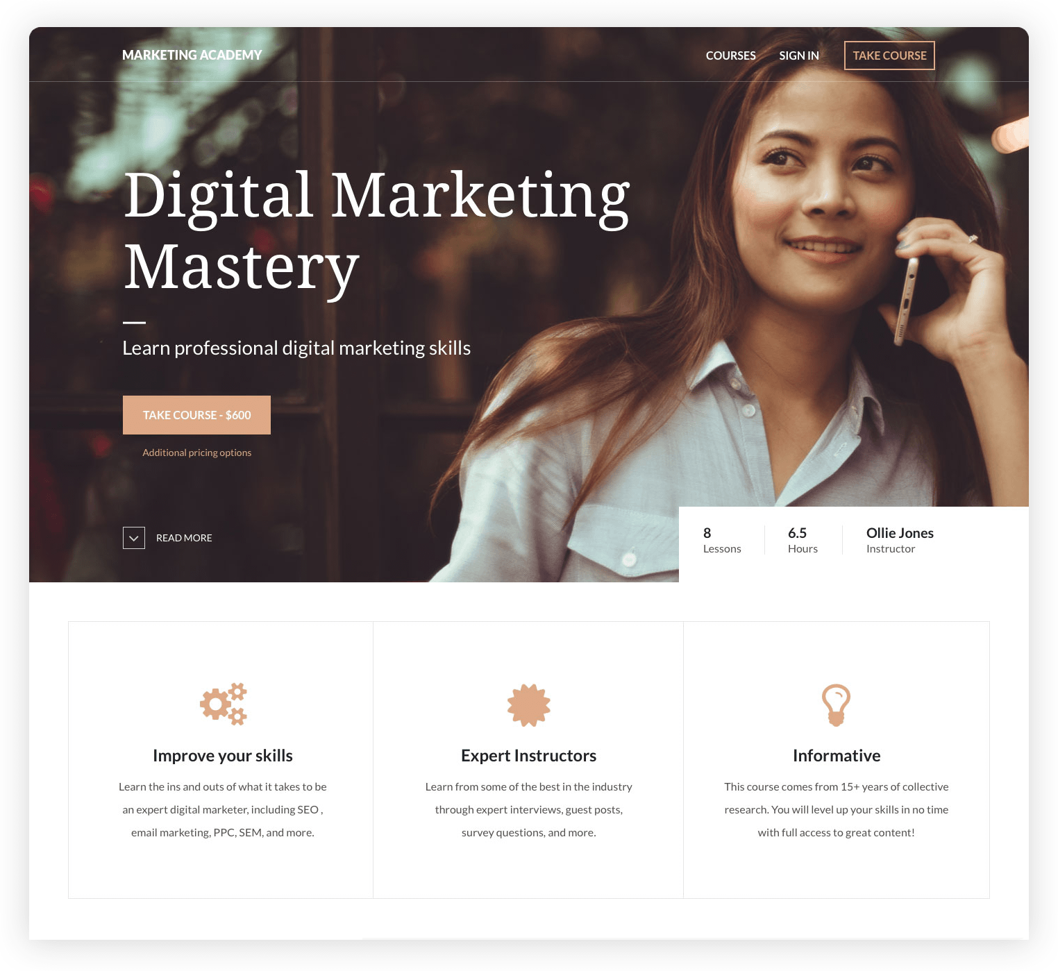 Thinkific Online Course Management Platform Marketing Skills Mastery Learning Right To Education