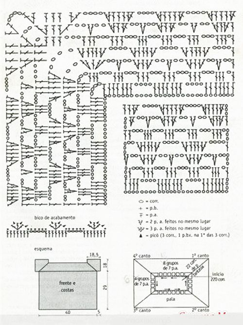 Easy crochet from the top down crochet schemes crochet diagrams easy crochet from the top down crochet schemes crochet diagrams ccuart Image collections
