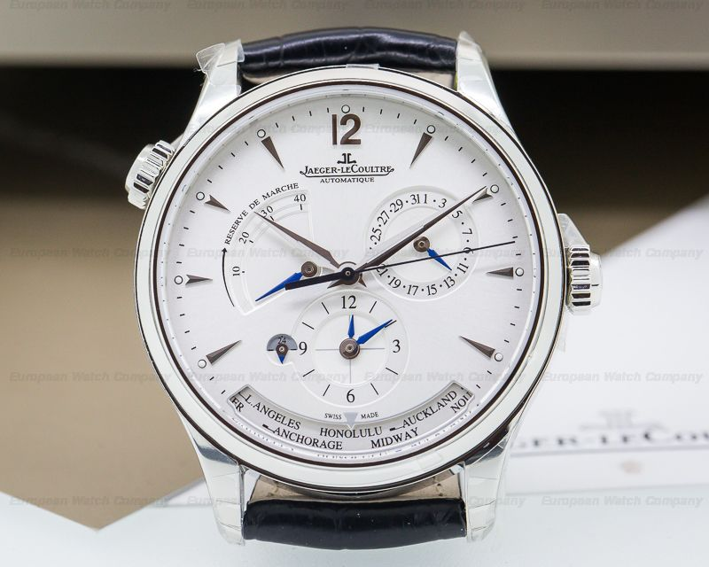 2418f117323 NEW Style Jaeger LeCoultre Master Geographic in steel!! Reference   Q1428421