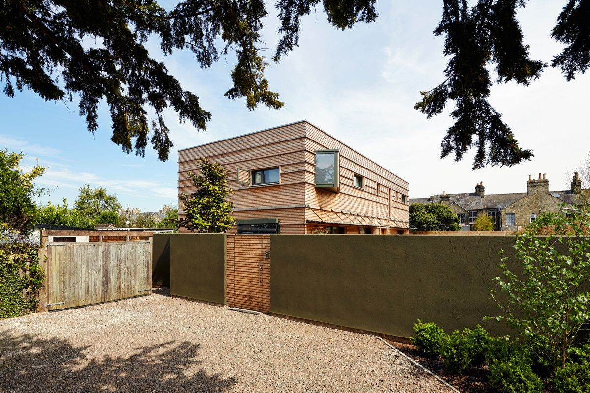 Modernes Fertighaus In Holzbauweise Einfamilienhaus Treehouse Von