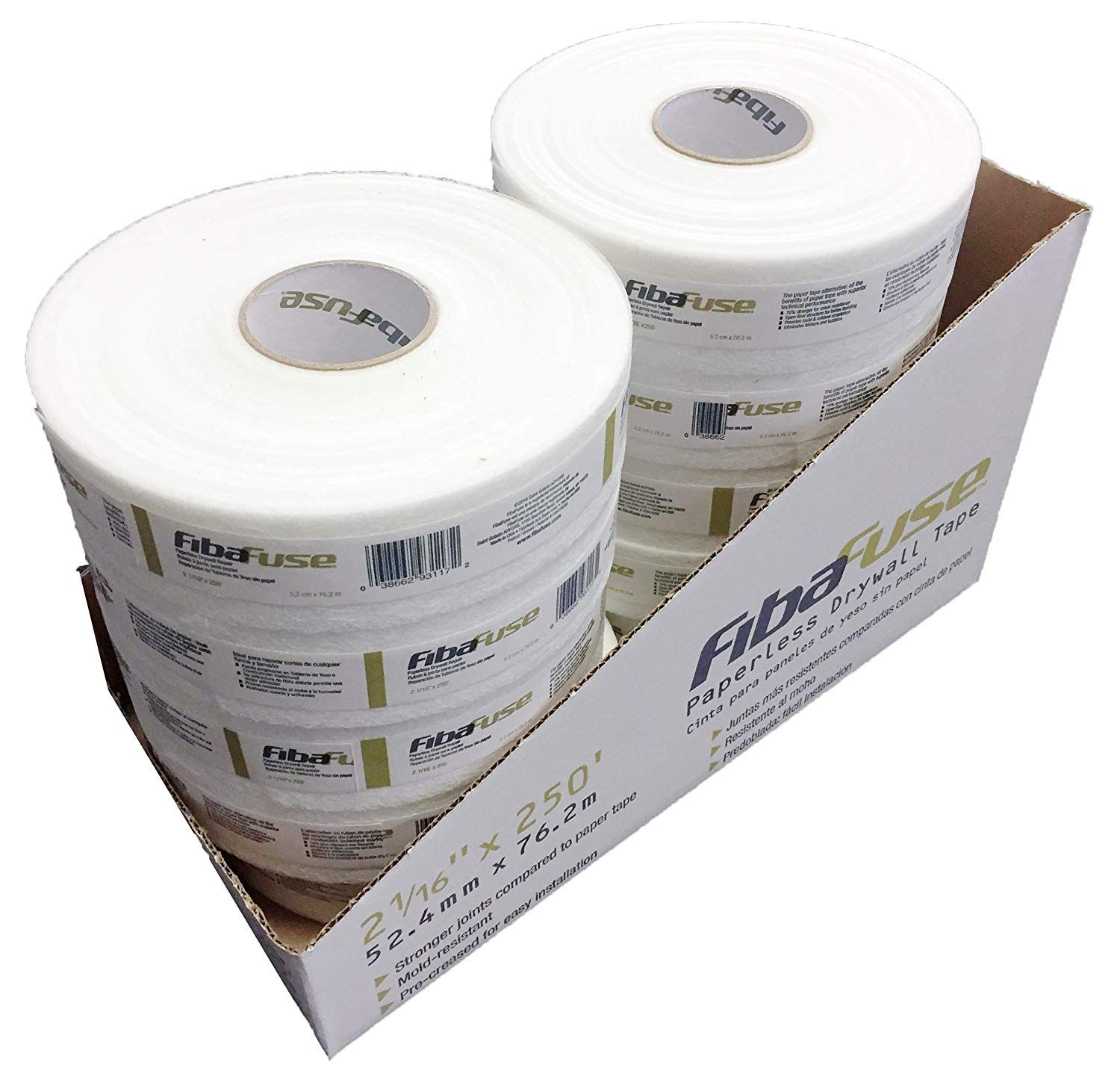 Adfors Fibafuse Fdw8652 Paperless Drywall Joint Tape 2 In X 250 Ft White Pack Of 10 Check Out This Great Product This Is An A With Images Tape Paperless 10 Things