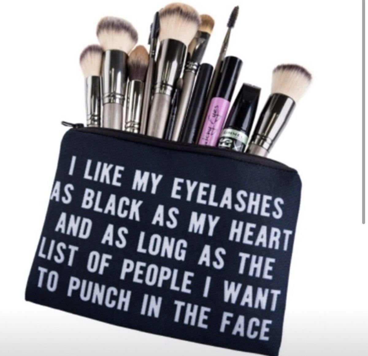 make up bag Funny makeup bag, Makeup bag, Makeup