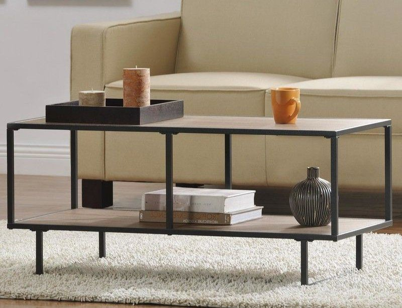 Unique Coffee Table Industrial Metal Wood Tv Stand Modern Living Room Furniture Modern Furniture Living Room