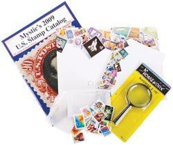 U.S. Stamp Collecting Kit For Beginners