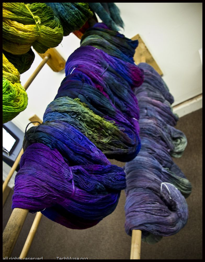 a knit and crochet community How to dye fabric, Indie