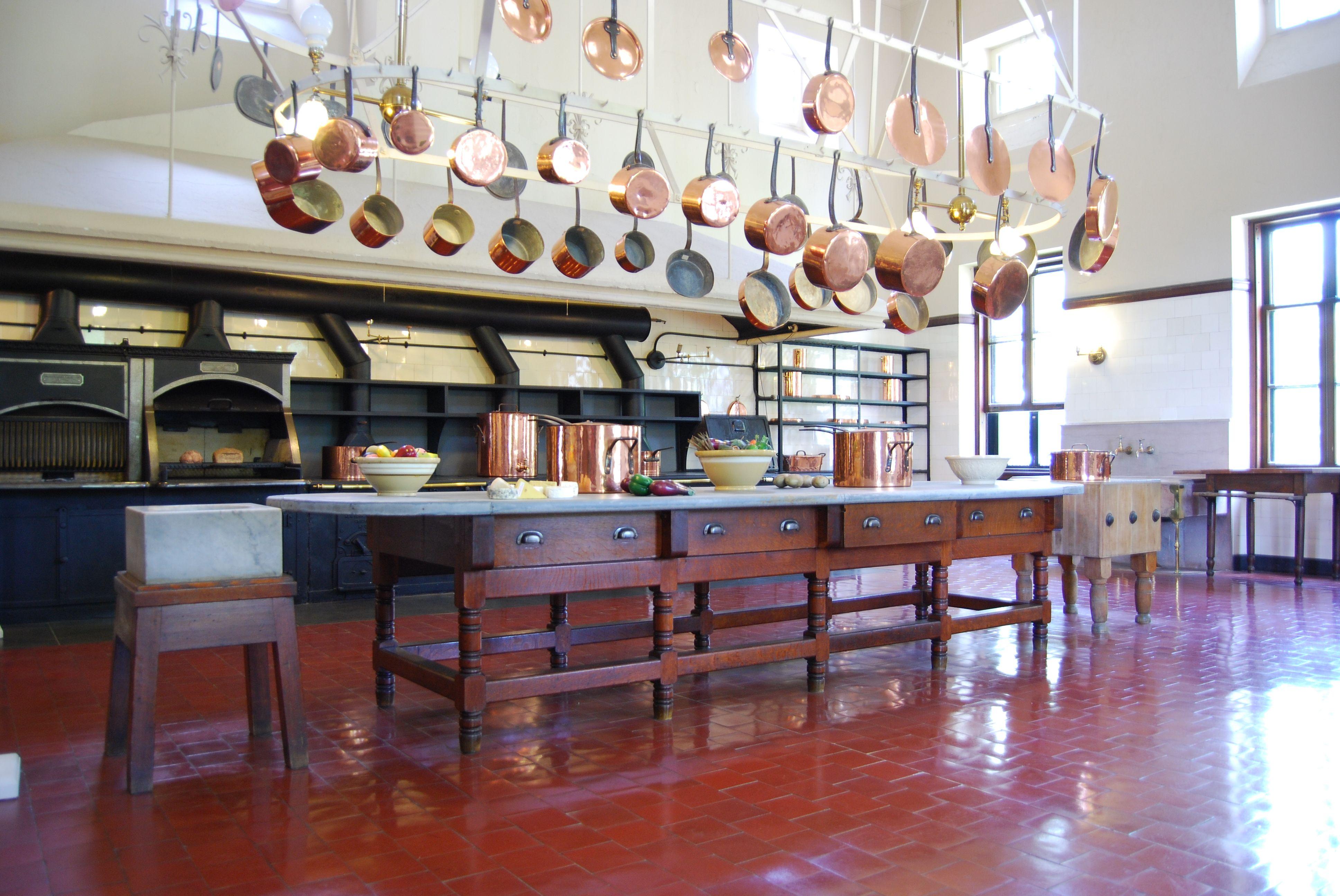 Breakers Newport  Recherche Google  Rhode Island  Pinterest Beauteous Downton Abbey Kitchen Design Design Inspiration
