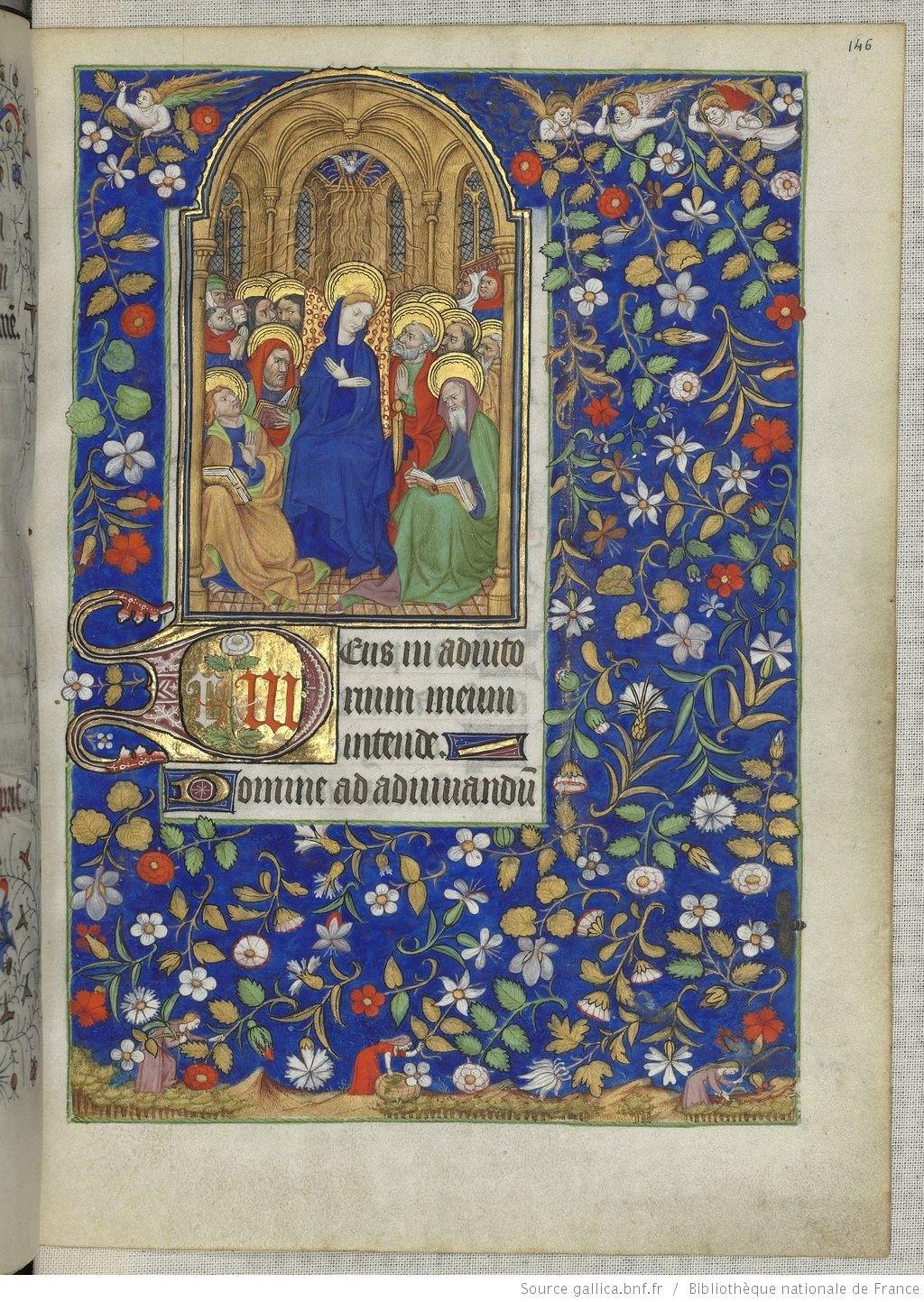 Horae ad usum romanum. | Gallica. Heures de Marguerite d'Orléans