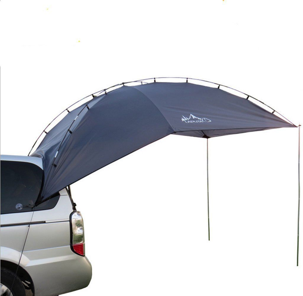 New Waterproof Outdoor Shelter Tent Car Gear Shade Tents Truck Camping Tents Gazebo Camping Equipment Only 104 95 Cartentcamping Suv Camping Car Tent Suv Tent