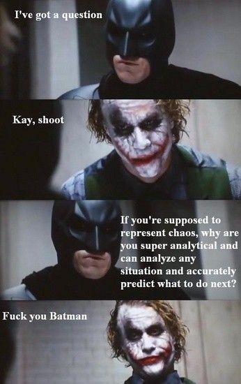 Batman Joker Funny Quotes Quotesgram Batman Funny Batman Joker