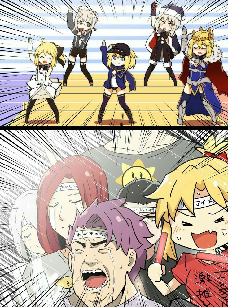 Lancer Artoria looks so done with this. not that I blame her (With images)   Fate. Fate stay night. Fate anime series