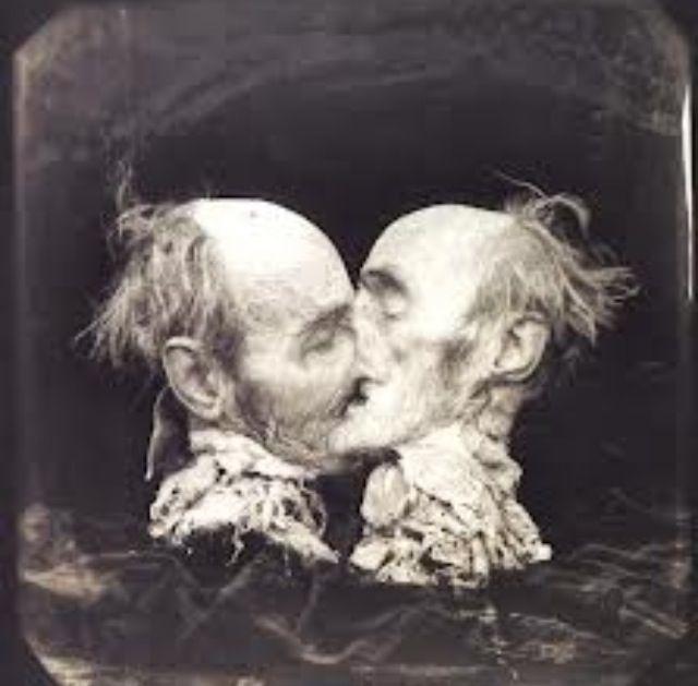 Joel Peter Wilkin's 'the kiss' - my favorite dark artist