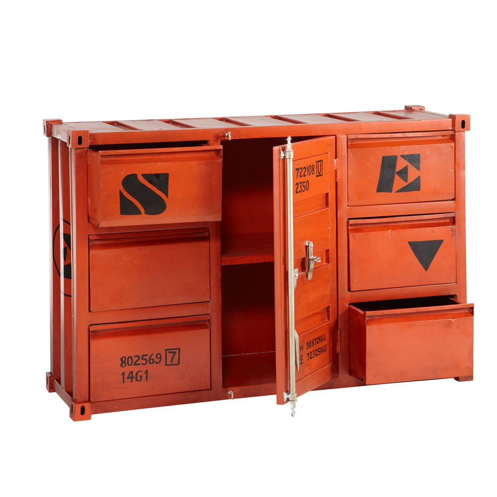 Buffetkast carlingue container van cabinet pinterest container