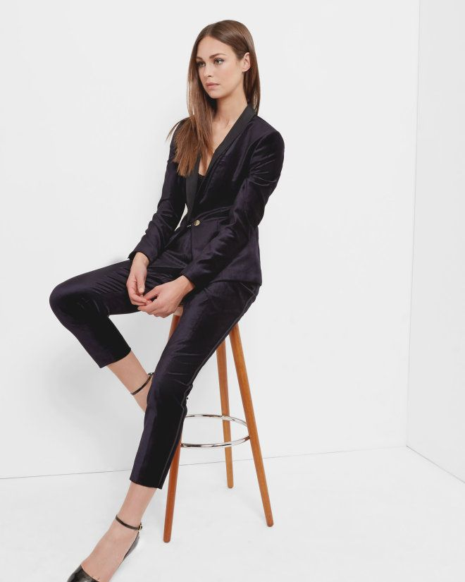 575af698cb103 You have to check out the Ted Baker 20% off autumn shopping event. Upgrade  your workwear wardrobe with a luxurious velvet tuxedo suit  ad