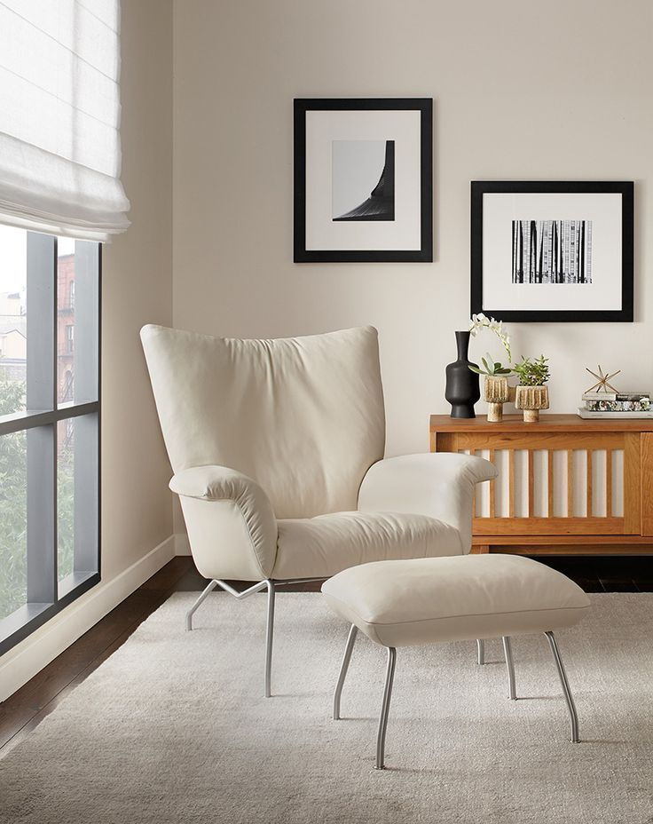 Paris Chair Ottoman Modern Accent Lounge Chairs Modern