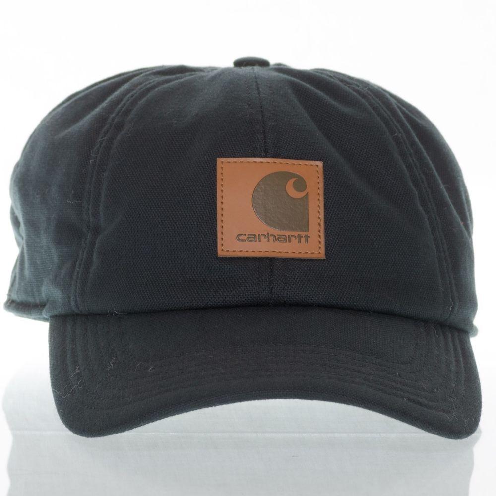 5f9e2c759003c Carhartt Workflex Ear Flap Cap A199 Black Canvas Duck Cloth Polyester  Insulated