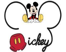 Resultado De Imagen Para Cabeza De Mickey Mouse Con Pantalon Aniversario