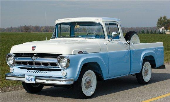 gallery for gt 1957 ford trucks old trucks pinterest