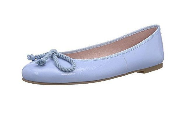 Pin For Later The Ultimate Guide To Flat Wedding Shoes Pretty Ballerinas Blue Flats