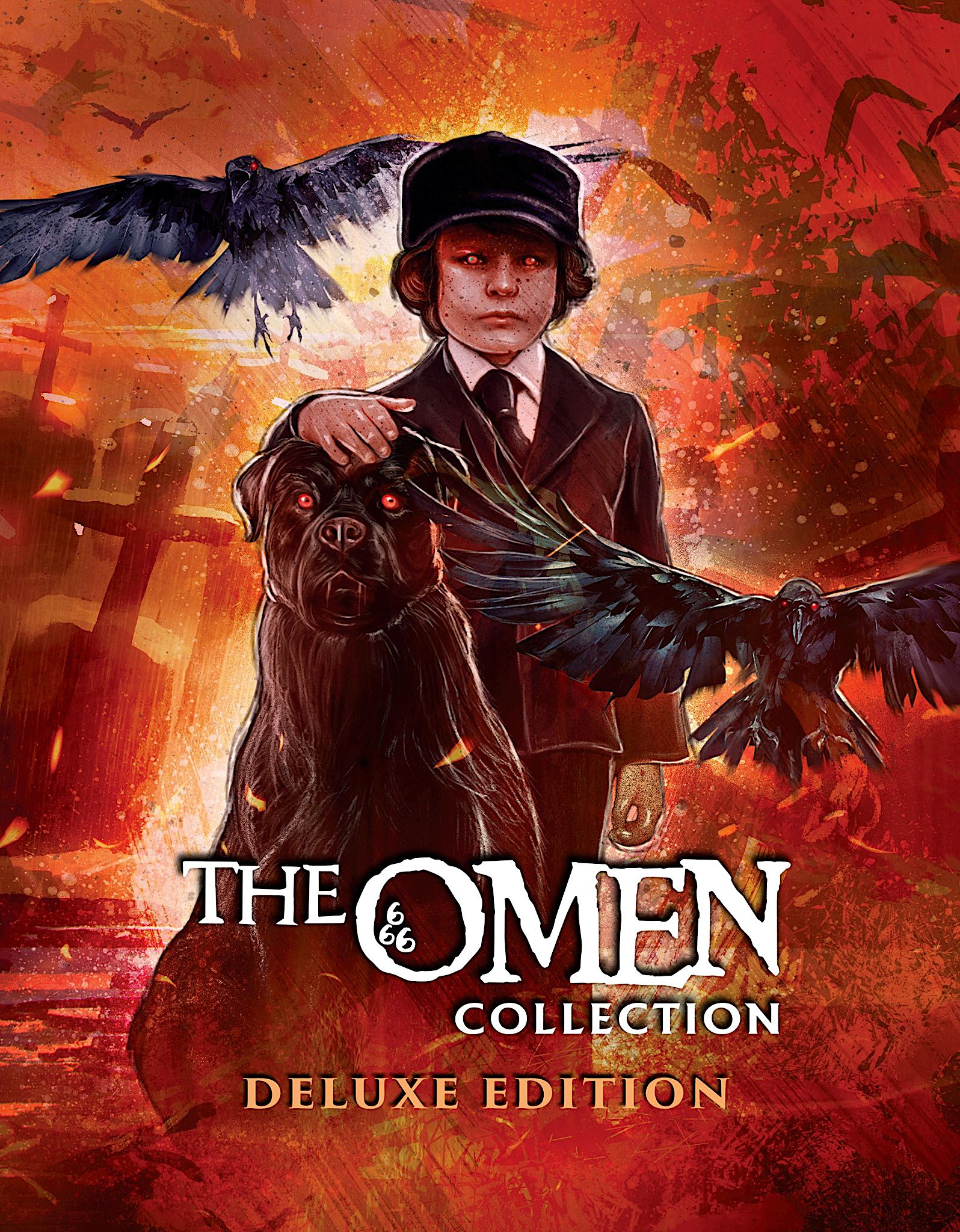 THE OMEN COLLECTION DELUXE EDITION BLURAY BOX SET (SCREAM