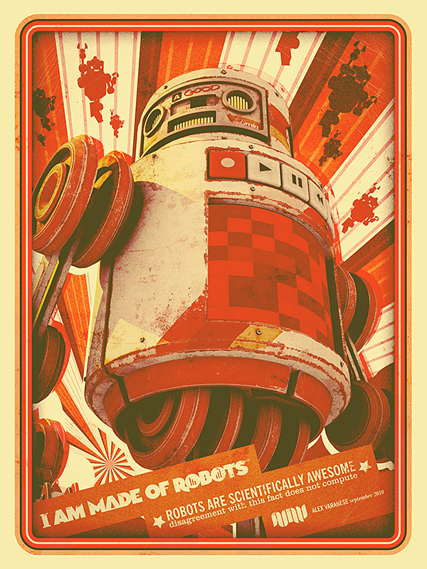 http://www.behance.net/gallery/I-AM-MADE-OF-ROBOTS/2265808#.TpDJEXBBd5Y.twitter
