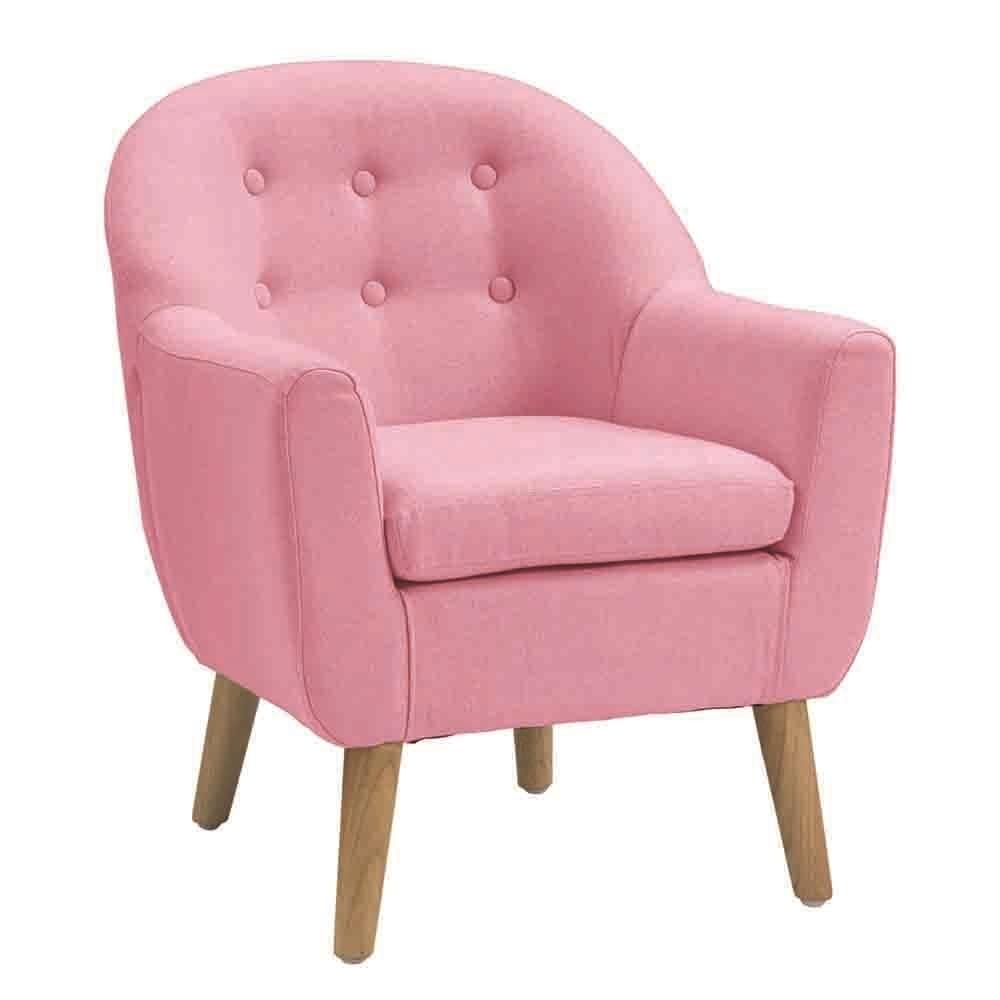Best Kids Single Seater Chair Pink Childrens Bedroom 640 x 480