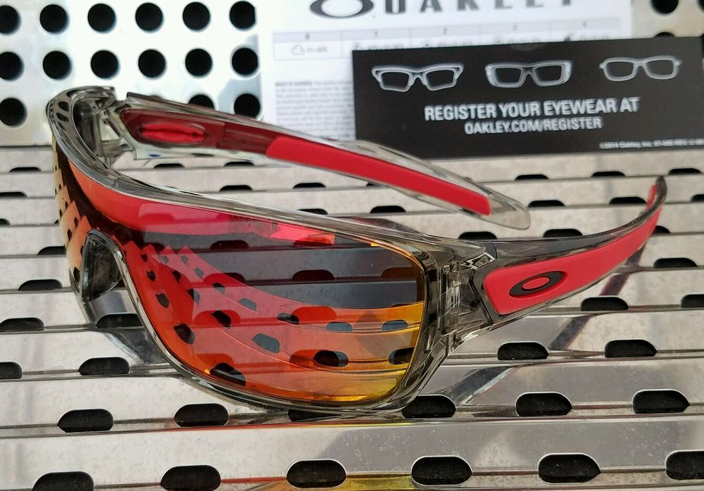 05d01c3fac New Oakley 9307-03 TURBINE ROTOR Sunglasses Grey Ink   Ruby Iridium Lenses   fashion