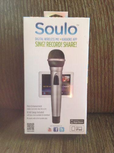 Soulo Digital Wireless Mic Karaoke App For Apple iPad