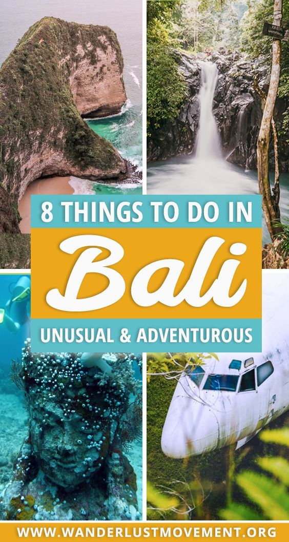 Looking for adventurous and unusual things to do in Bali? Here are 8 activities that deserve a spot on any intrepid travellers Bali bucket list! | Bali travel | Bali travel guide | Things to do in Bali | Adventure travel | Bali travel tips | #bali #adventuretravel #traveltips #indonesia