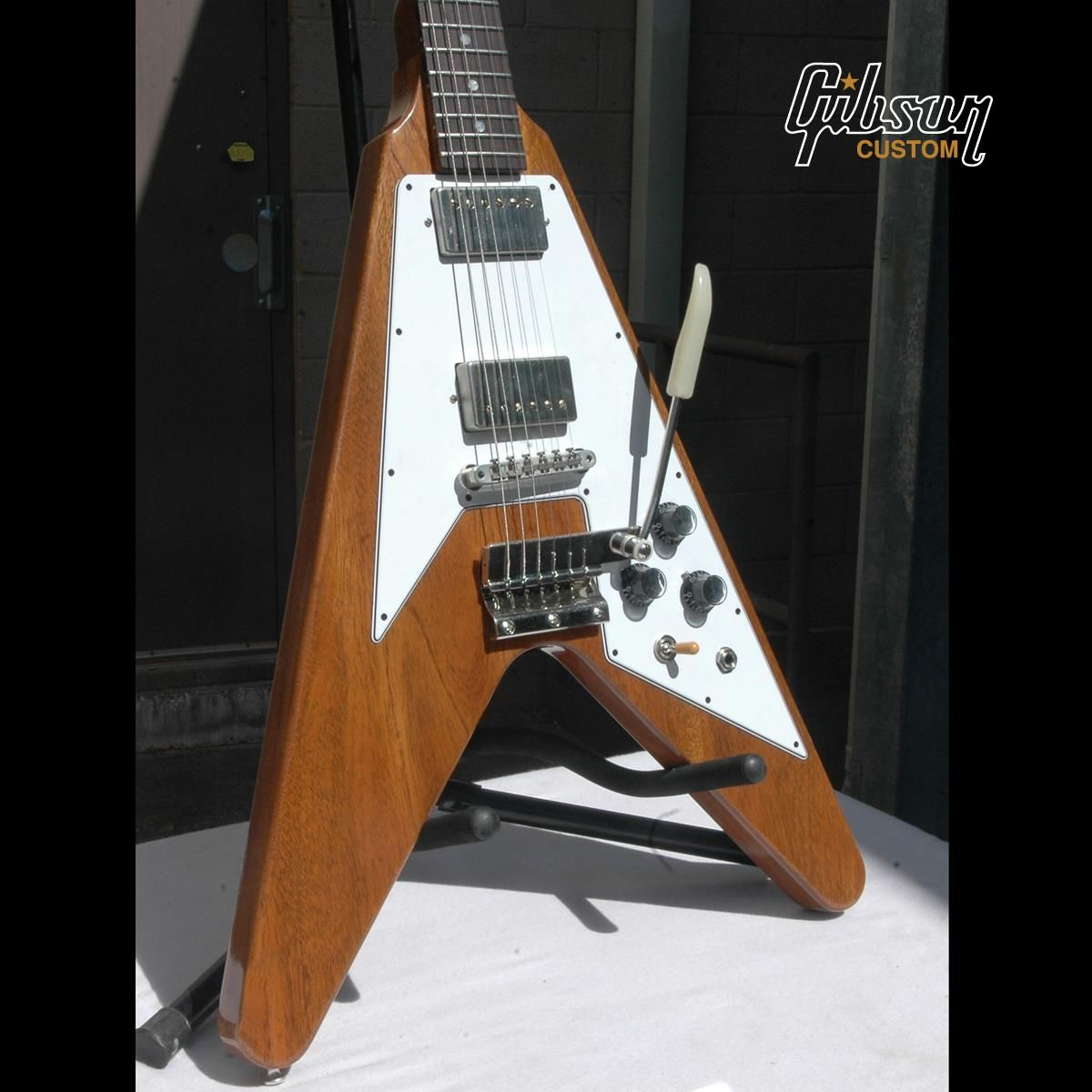 1967 Flying V Mahogany Reissue in Natural