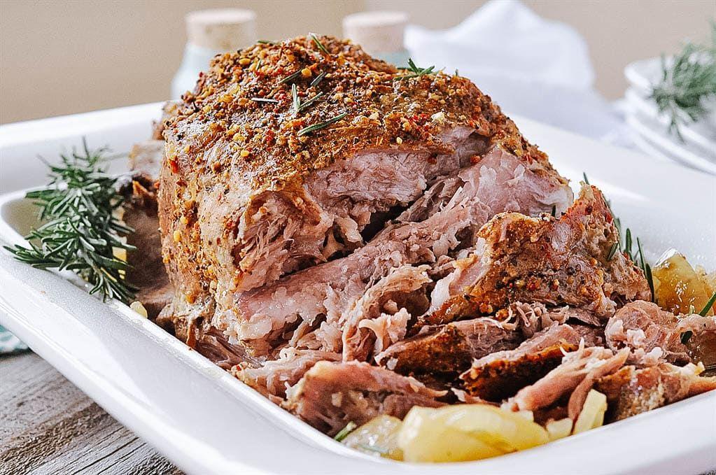 Crockpot Pork Roast 5 Ingredients Recipe Crockpot Pork Roast Slow Cooker Pork Roast Pork Roast Recipes