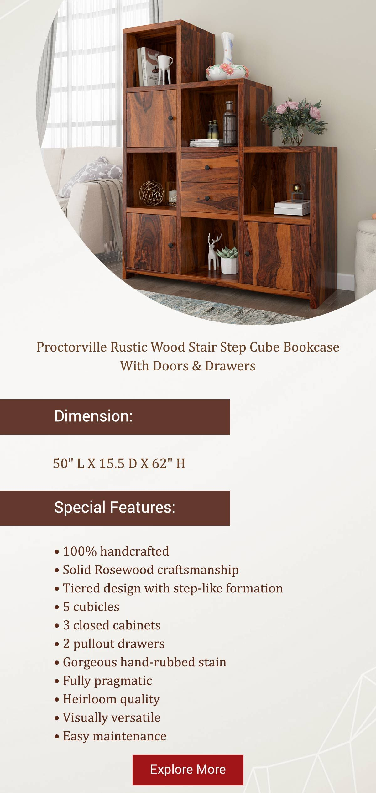 Organize Your Collection Perfectly With Solid Wood Cube Bookcases To Inhabit Books Of All Genres Seamlessly In E Cube Bookcase Wood Stairs Bookcase Inspiration