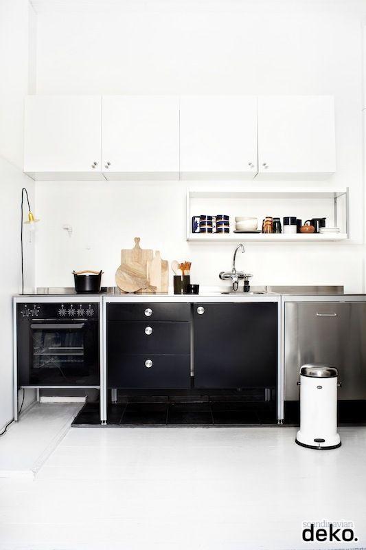 Industrial kitchen Scandinavian Deko Kitchen Pinterest - Ikea