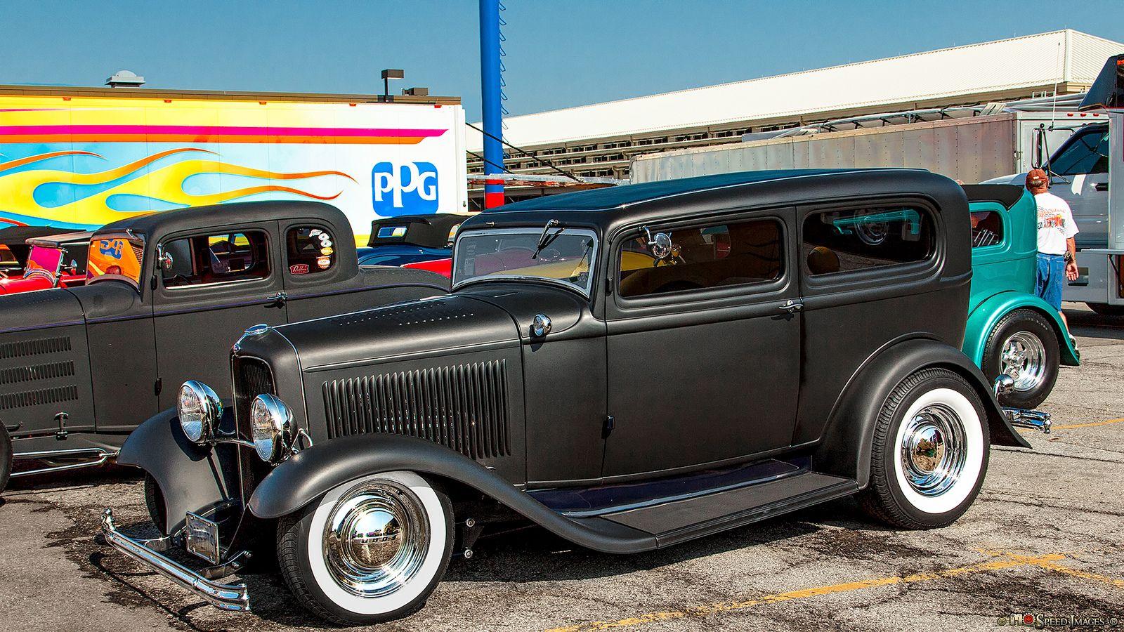 1932 Ford Tudor Sedan Hot Rods Cars Rat Rod Sedan