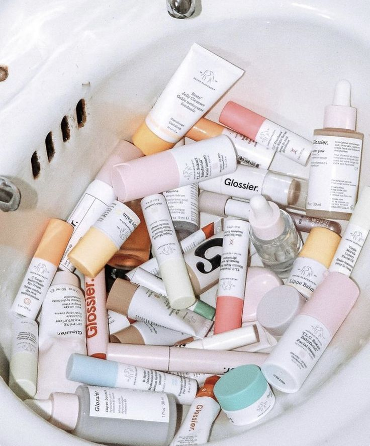 Photo of Makeup & Skin Care Products #glossier #drunkelephant