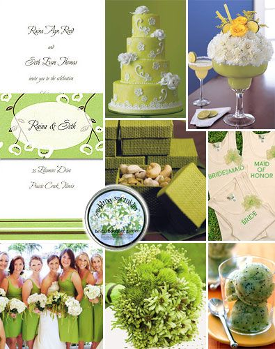 Lime Green Weddings Spring Is The Perfect Time To Think About In Your Color Palette For Either Bridal Showers Or