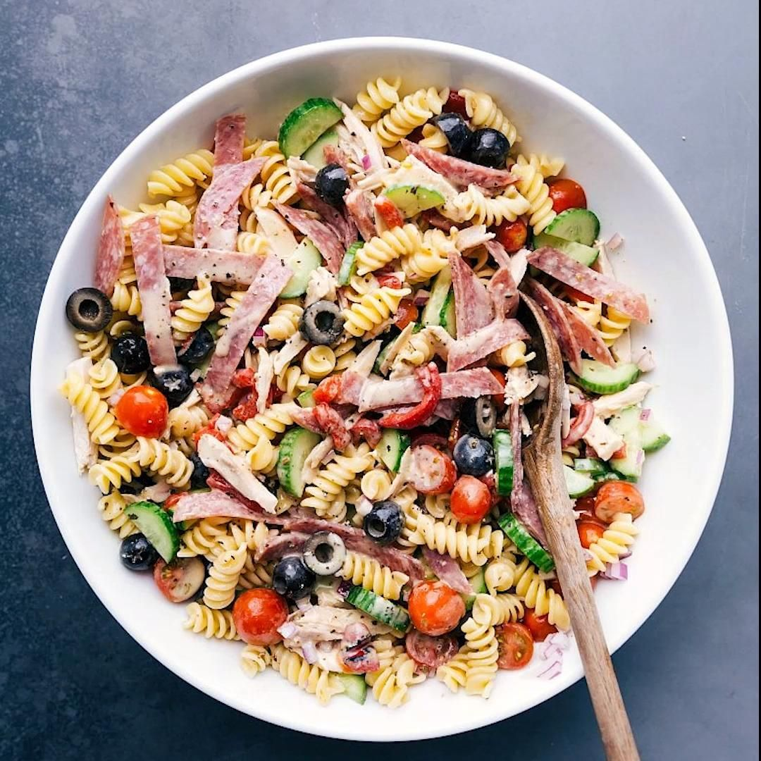 Italian Pasta Salad This Italian Pasta Salad is lo