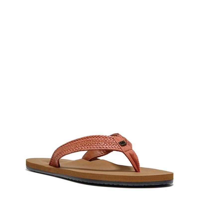 53aae54ca52b Billabong Women s Kai Flip Flop Shoes (Cinnamon) - 10.0 M