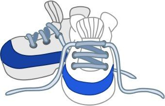 gym shoe clip art clip art of white sneakers or tennis shoes rh pinterest com walking tennis shoes clip art tennis shoes clip art free