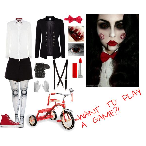 Jigsaw cosplay/costume | Stuff to Try | Halloween costumes ...