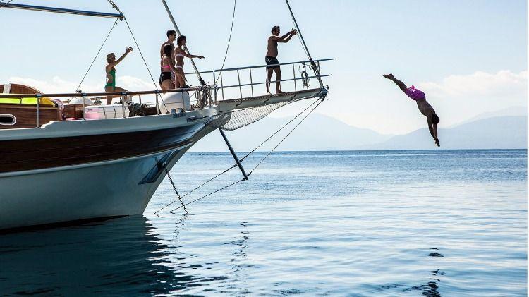 Life on board yacht sailing holidays yacht charter