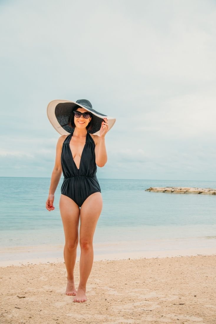 Perfect One-Piece Swimsuit for a Beach Vacation / Honeymoon #beachhoneymoonclothes Perfect One-Piece Swimsuit for a Beach Vacation / Honeymoon // This swimsuit is the right amount of sexy and classy + it comes in white too! Whether you're a newlywed or just wanting a sassy new swimsuit - this one is PERFECT! #honeymoon #swimsuit #swimwear #uniquevintage #vintagestyle #beachvacation #beachhoneymoonclothes