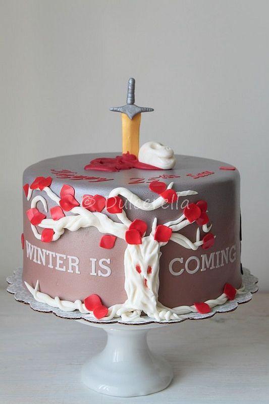Game of Thrones Cake Gaming Cake and Cake games