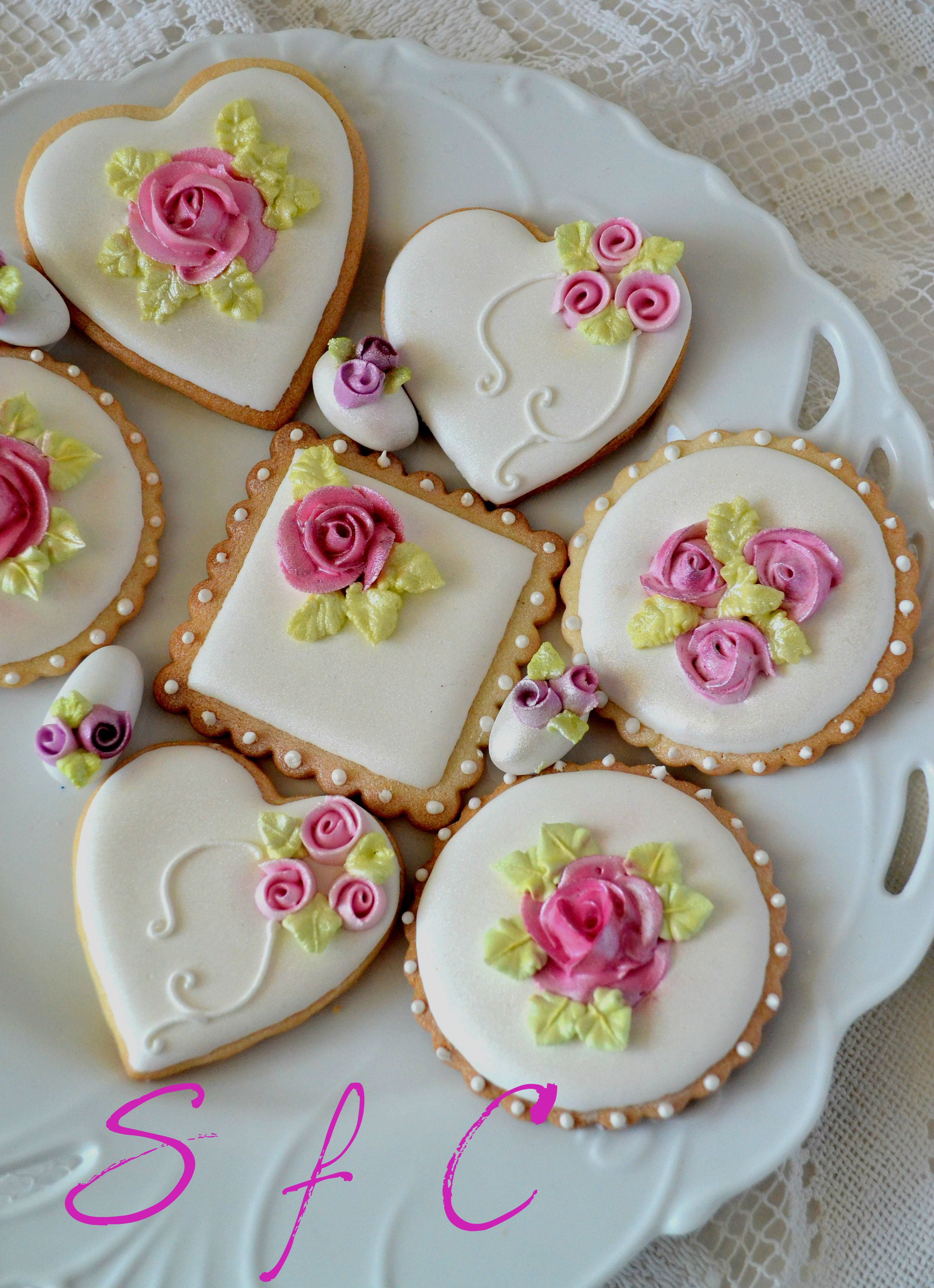 Cookies Kuchen Ohne Backen Royal Icing Cookies My Sugar Creations Pinterest