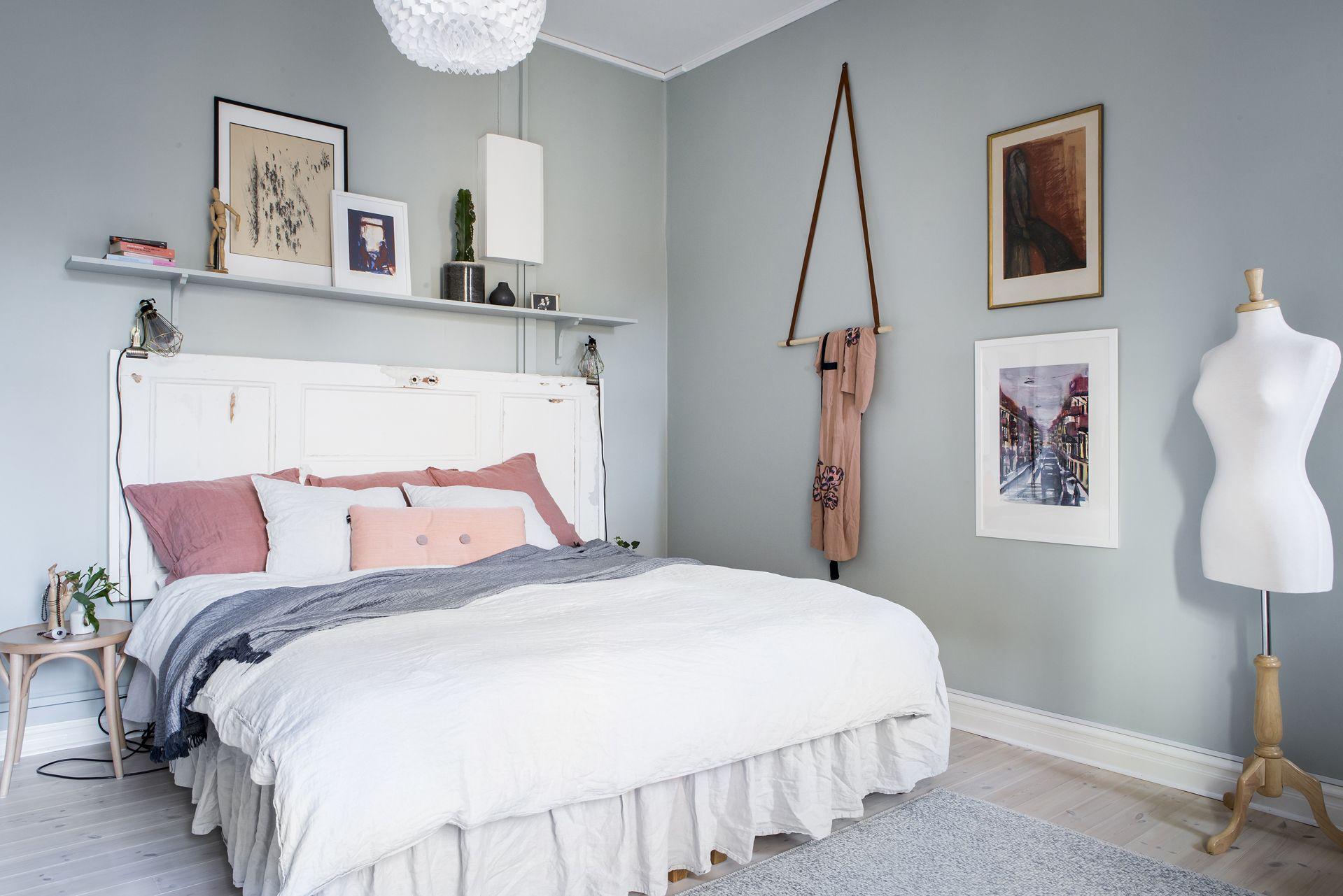 Bed Heads Light Blue Bedroom