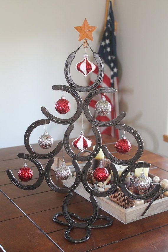 Hufeisen weihnachtsbaum basteln pinterest hufeisen - Hufeisen basteln ...