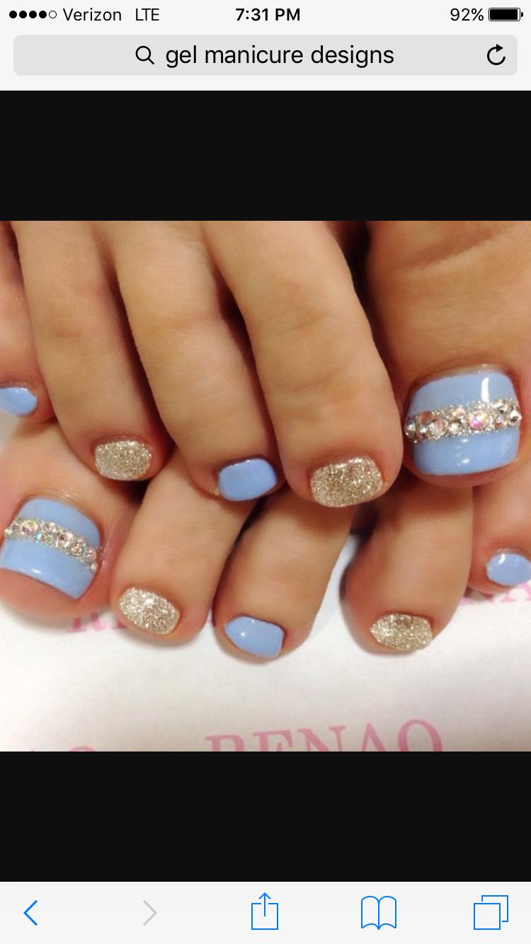 Pin by Diana Aguinaga on Nails   Pinterest   Pedicures, Toe nail art ...