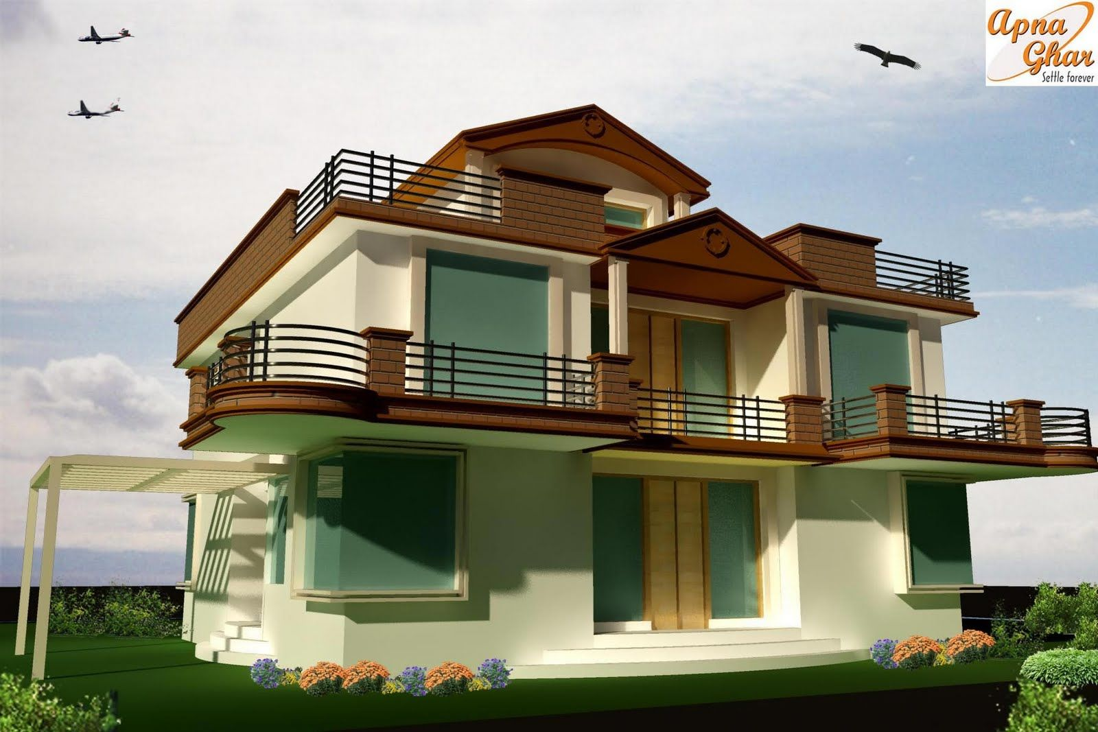 Architectural designs modern architectural house plans for Modern house designs 3d