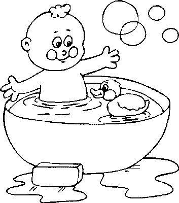 relax in bad kleurplaat 28 afbeeldingen
